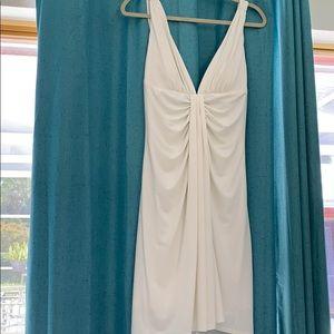 Boston Proper white dress